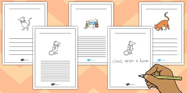 The Town Mouse and the Country Mouse Writing Frames - writing