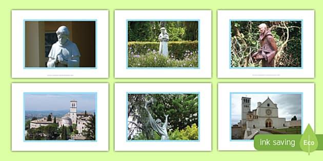 Saint Francis of Assisi Display Photos