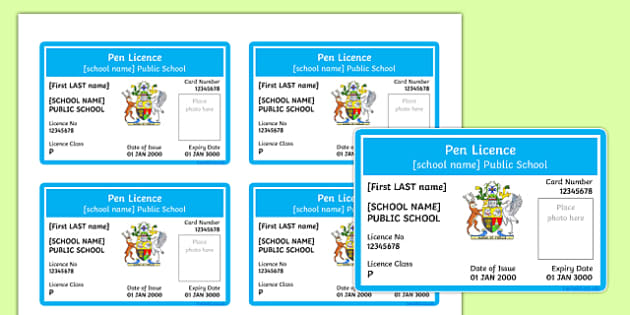 Australian Pen Licences Queensland Editable Proforma-Australia