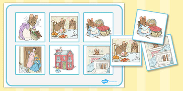 The Tale of Two Bad Mice Matching Mat - two bad mice, matching mat