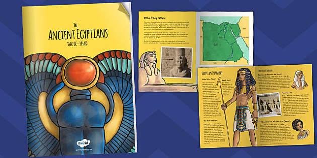 The Ancient Egyptians eBook - egypt, ancient egypt, egyptians