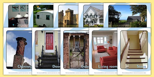 Houses and Homes Display Photos - house, home, building, Display Posters, A4, display, posters, brick, stone, detached, terraced, bathroom, kitchen, door, caravan, where we live, ourselves