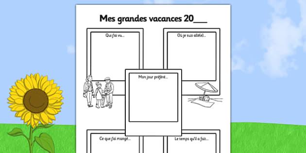 Mes grandes vacances 20_ - french, summer holiday, snapshots, sen