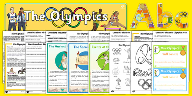 Teaching Assistant Olympics Resource Pack