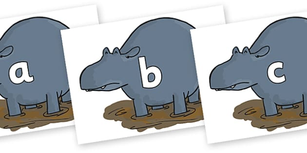 Phase 2 Phonemes on Humpy Rumpy Hippopotamus to Support Teaching on The Enormous Crocodile - Phonemes, phoneme, Phase 2, Phase two, Foundation, Literacy, Letters and Sounds, DfES, display