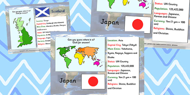 Word Flags and Countries Information PowerPoint - world flags, flags, countries, information powerpoint, powerpoint, discussion prompt, class discussion