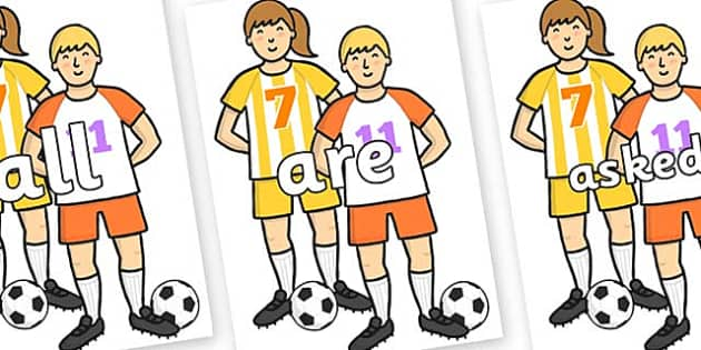Tricky Words on Players - Tricky words, DfES Letters and Sounds, Letters and sounds, display, words