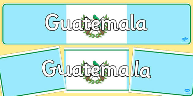 Guatemala Display Banner - guatemala, display banner, display