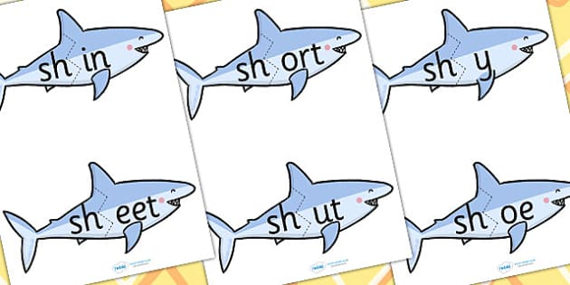 sh Sound And Vowel Animal Jigsaw - sound, vowels, jigsaw, animals