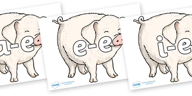 Modifying E Letters on Wilbur - Modifying E, letters, modify, Phase 5, Phase five, alternative spellings for phonemes, DfES letters and Sounds
