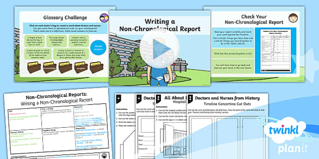 PlanIt Y2 Significant Individuals: Florence Nightingale Lesson Pack Non-Chronological Reports (2)