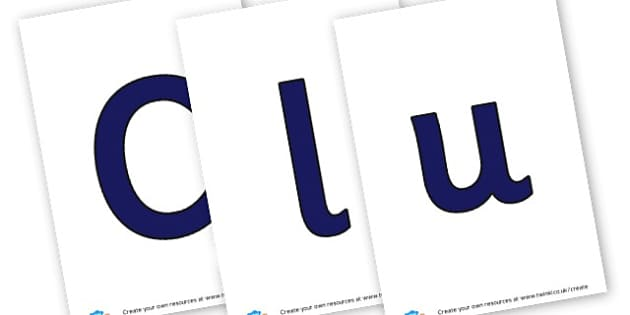 Clubs - display lettering - Display, Clubs, Extra Curricular, Topic, Primary Resources