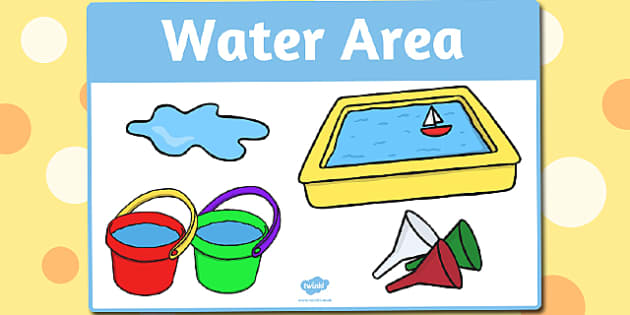 Water Area Sign - water area, sign, display sign, display, water