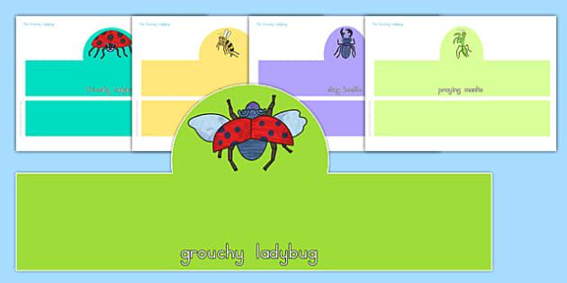 The Grouchy Ladybug Role Play Headband - usa, america, the grouchy ladybug, role play headband