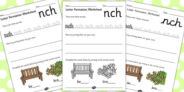Phase 4 Final Blends Letter Formation Worksheets - phase 4, blend