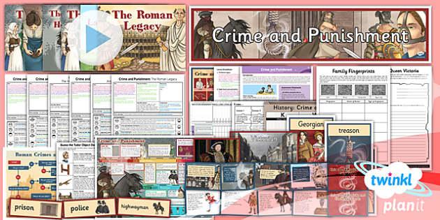 PlanIt - History LKS2 - Crime and Punishment Unit Pack - planit, history, unit, pack
