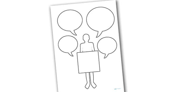 Blank Role on the Wall Worksheets - blank, role on the wall, worksheets, blank worksheets, role on the wall worksheets, role play, role play worksheets