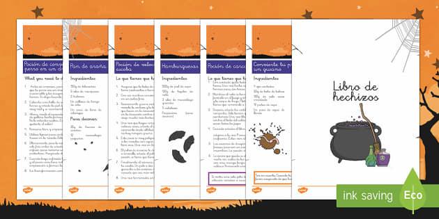 Libro de hechizos Pack de recursos