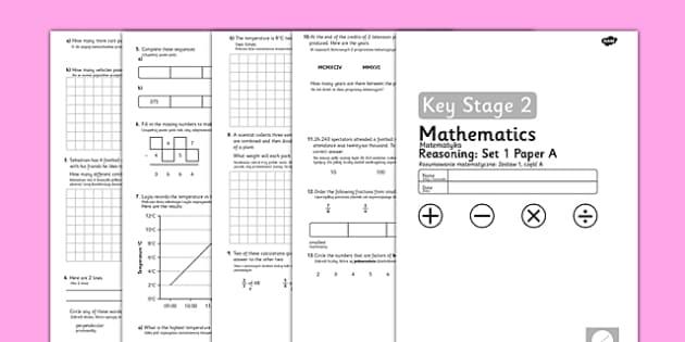 Year 5 Maths Reasoning Tests Set 1 Polish Translation - polish, reading, scales, activity, sheet, read, maths