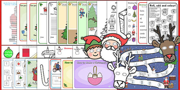 Christmas Activity Complete Pack - christmas, activites, games