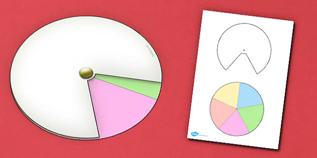 Interactive Notebook Spinner 1 5th - paper craft, visual aid
