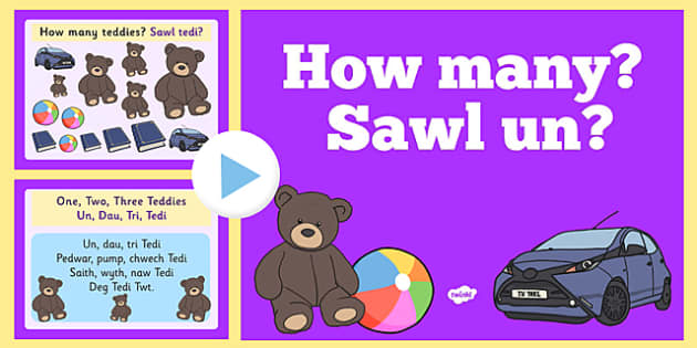 How Many? Bilingual - welsh, cymraeg, How many? Counting in Welsh, Second Language Welsh