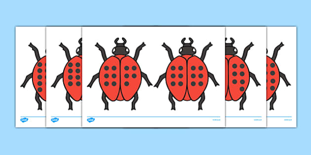 Ladybird Cut-Outs with Spots (11-20) - Ladybirds, counting, 11-20, numeracy, ladybirds, minibeasts, foundation numeracy, Number recognition, Number flashcards, 11-20