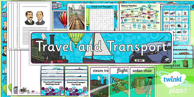 PlanIt - History KS1 - Travel and Transport Unit Additional Resources