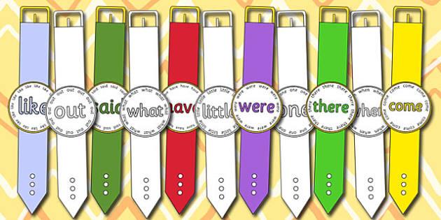 Phase 4 Tricky Word Watches - phase 4, tricky, word, watches