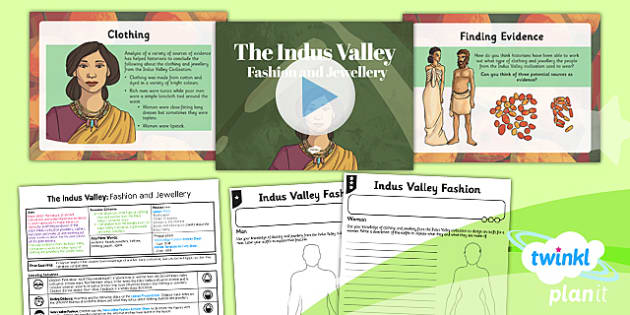 PlanIt History UKS2 Indus Valley Lesson 6 Fashion Jewellery Pack