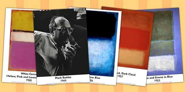 Mark Rothko Photo Pack - mark, rothko, photo, pack, display