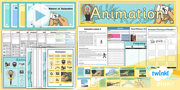 PlanIt - Computing Year 4 - Animation Unit Pack - planit, computing, unit, pack