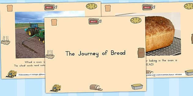The Journey of Bread PowerPoint - baking, food, on the farm