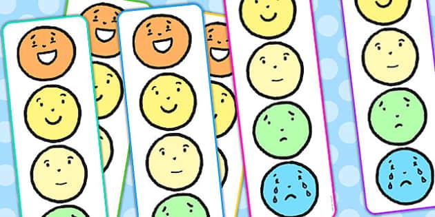 Emotion Reward Chart Individual - emotions, feelings, reward chart, rewards, award, charts, individual chart, behaviour management, award chart, behaviour