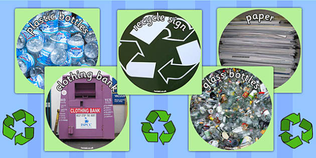Recycling Display Photo Cut Outs - recycle, eco, display, cut out
