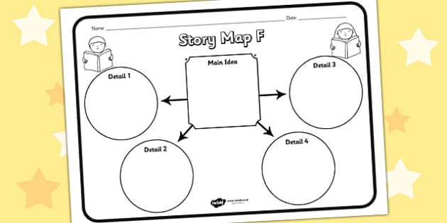 Story Map F Worksheet story map F story stories story map – Story Map Worksheet