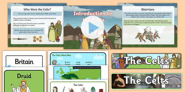 The Celts Resource Pack - History Club, The Celts, Ideas, Support, Elderly Care, Care Homes, Activity Coordinators, Life long