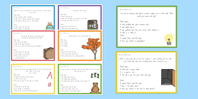 Writing Challenge Cards - nz, new zealand, writing, challenge cards, challenge