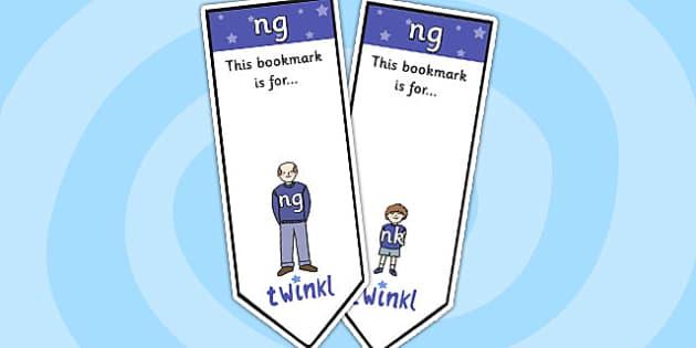 ng Sound Family Editable Bookmarks - ng sound family, editable bookmarks, bookmarks, editable, behaviour management, classroom management, rewards, awards