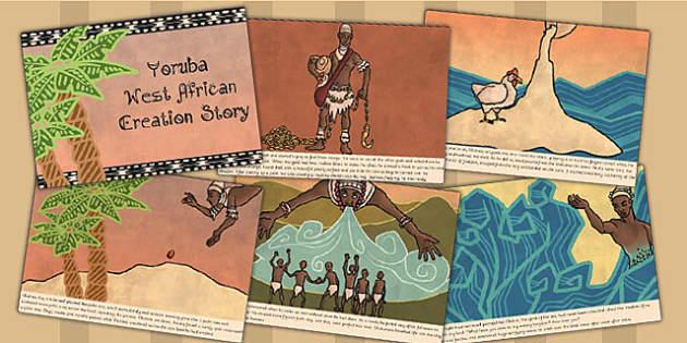Kingdom of Benin: Yoruba Creation Story Cards