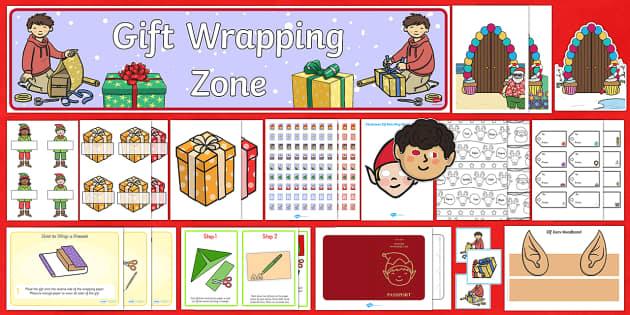 Elf Role Play Pack - Elves, elf, elf workshop, Santa, Sant'as workshop, Christmas