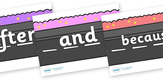 Connectives on Roads - Connectives, VCOP, connective resources, connectives display words, connective displays