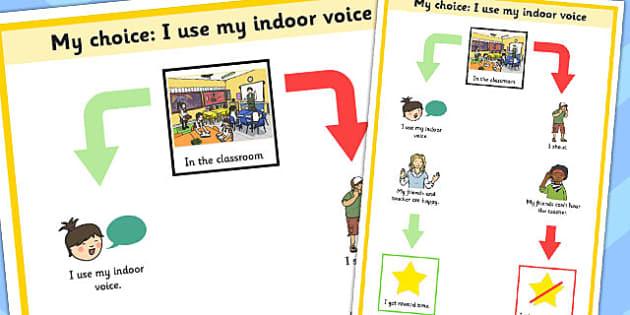 My Choice I Use My Indoor Voice - my choice, indoor, voice, use