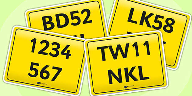 Bike Registration Plates - registration, bike registration, registration plates, bike plates, registration bike plates, register