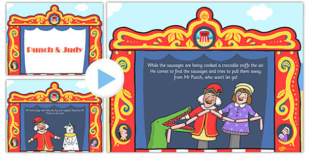 Punch and Judy PowerPoint - punch, judy, theatre, powerpoint