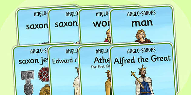 Anglo Saxons Display Posters - anglo saxons, posters, display