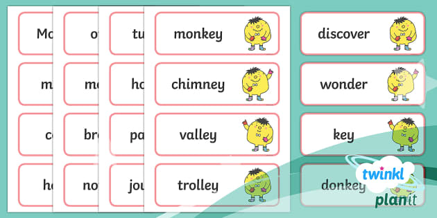 PlanIt English Year 2 Term 2B Spelling Word Cards - Spellings Year 2, Term 2B, word cards, spellings, ks1, y1, writing, english, literacy