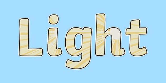 Light Display Lettering - light, display lettering, display, letter, Science lettering, Science display, Science display lettering