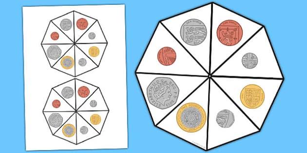 Coin Spinner - coin spinner, coin, spinner, maths, money, numeracy