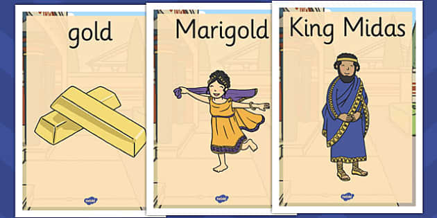 King Midas Display Posters - king midas, display posters, display